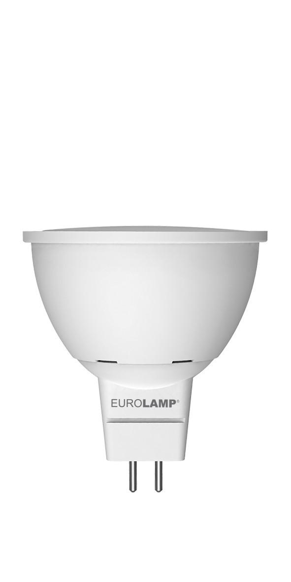LED Лампа EUROLAMP EKO SMD MR16 3W GU5.3 3000K