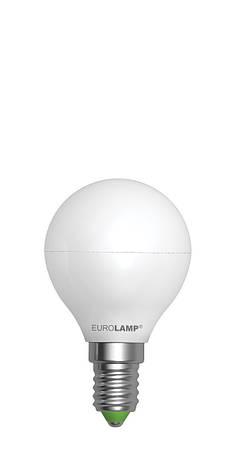 LED Лампа EUROLAMP EKO G45 5W E14 4000K, фото 2
