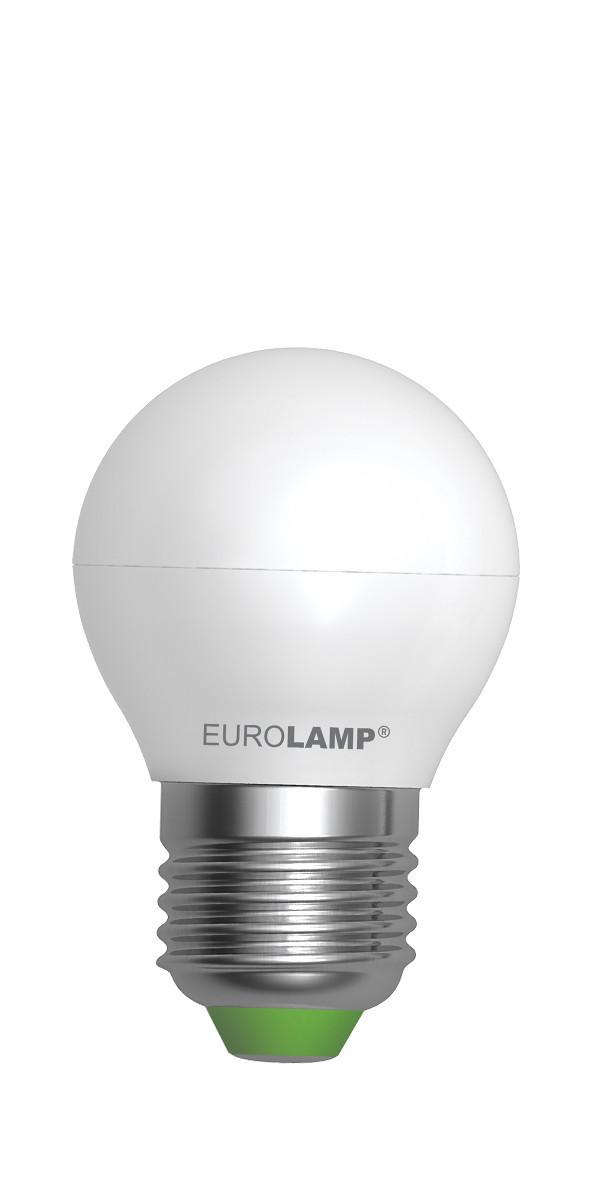 LED Лампа EUROLAMP EKO G45 5W E27 4000K