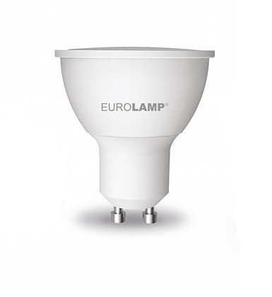 LED Лампа EUROLAMP EKO SMD 5W GU10 3000K