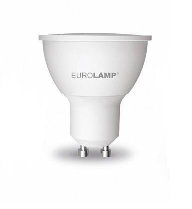 LED Лампа EUROLAMP EKO SMD 5W GU10 3000K, фото 2