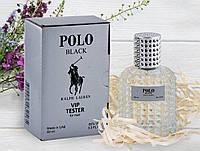 Мужской тестер Ralph Lauren Polo Black Vip (Ральф Лаурен Поло Блэк) 60 мл