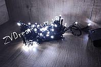 Гирлянда линза 100 LED 9м Белый, фото 1