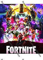 Вафельные картинки Fortnite