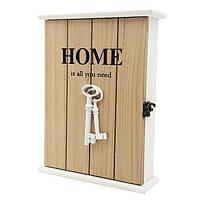 """Настенная ключница """"Home"""", деревянная красивая ключница, декор для дома"""