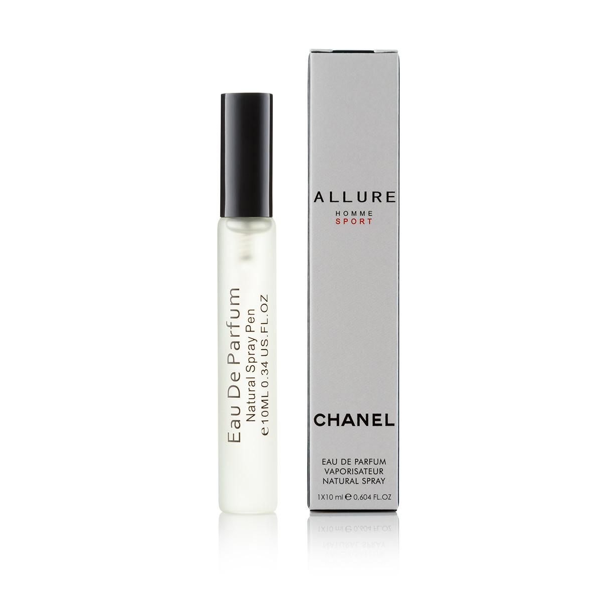 10 мл парфюм спрей в ручке Allure homme Sport (М) Д-10