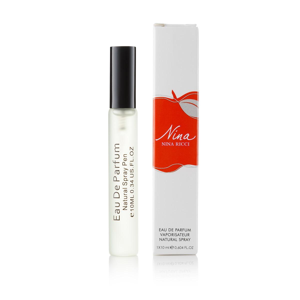 10 мл парфюм спрей миниатюра в ручке  Nina Ricci Nina (Ж)  Д- 71