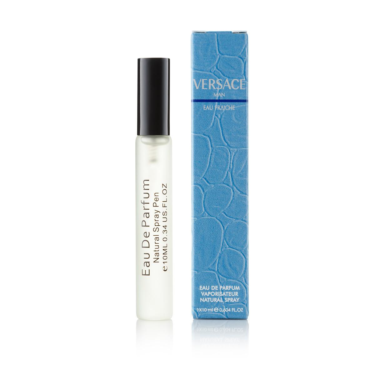 10 мл мини парфюм спрей в ручке Versace Man Eau Fraiche - (М)  Д-86