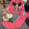Женский костюм с принтом и капюшоном 815 Ник, фото 5