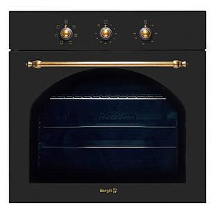 Електрична духова шафа BORGIO OFA 102.01 (Black Rustic) Чорна Антрацит