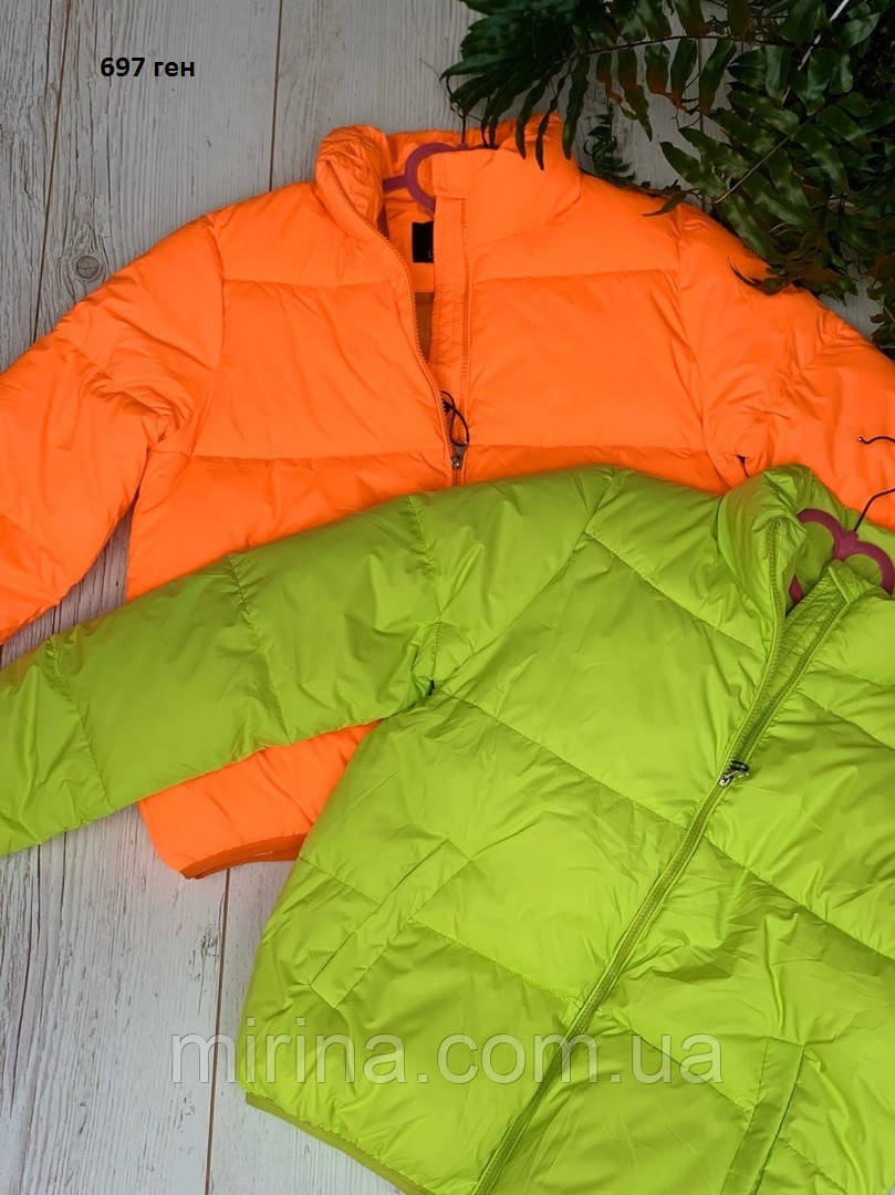 Короткая женская куртка 697 ген