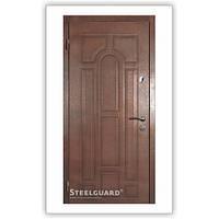 """Двери входные металлические Steelguard™ модель """"DR-27"""" Темний орех 187"""