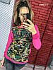 Женский свитшот ат3837.1 гл, фото 3