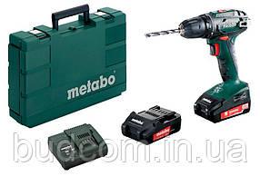 Аккумуляторный шуруповерт Metabo BS 18,1.5 Ач (602207550)
