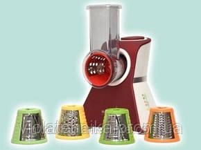 Кухонный комбайн-овощерезка красного цвета Hilton КМ 3071, фото 2