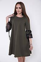 Платье женское 119R462 цвет Хаки
