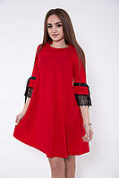 Платье женское 119R462 цвет Красный