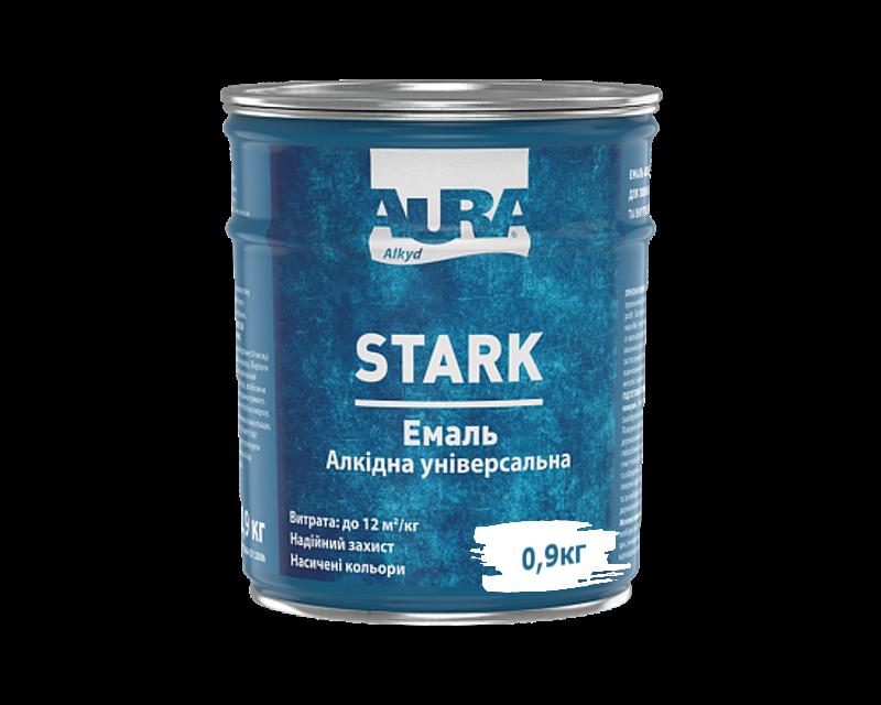 Емаль алкідна AURA STARK універсальна біла 0,9 кг