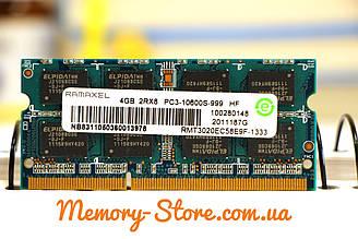 Оперативна пам'ять для ноутбука Ramaxel DDR3 4GB PC3-10600S PC3-12800s SODIMM (б/у)