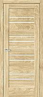 """Двери межкомнатные ОМиС """"RINO 01G"""" дуб Саванна + стекло (Natural Look) (600,700,800,900 мм)"""