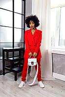 Брючный костюм красного цвета Udler, фото 1