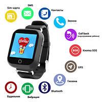 Smart часы детские с GPS Q100, фото 1
