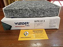 Фільтр салону вугільний WUNDER Renault Logan MCV 2 1.5 dCi (WPK813=272773151R)