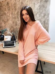 Ангоровое женское платье 1051 АБ