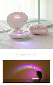 Ночник-светильник Ракушка проектор радуги Rainbow Код 13-7779