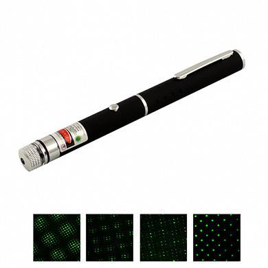 Фонарь-лазер зеленый 803-1