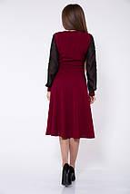Платье женское 119R140 цвет Бордовый, фото 2