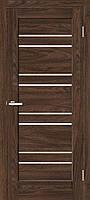 "Двері міжкімнатні ОМіС ""RINO 01G"" дуб Такома +скло (Natural Look) (600,700,800,900 мм)"