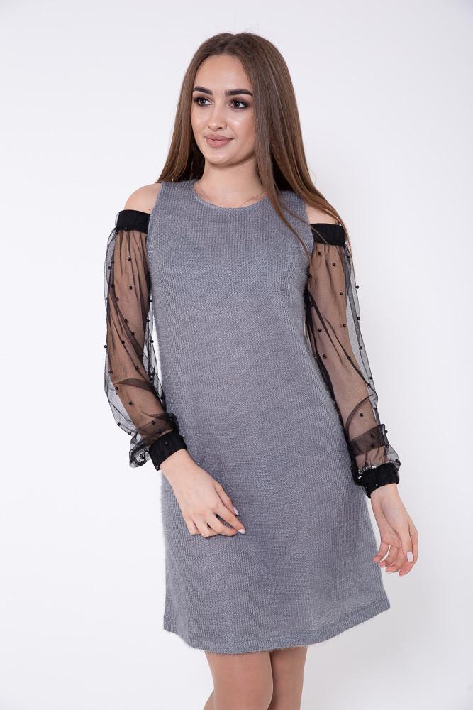 Платье женское 115R902 цвет Серый