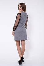 Платье женское 115R902 цвет Серый, фото 2