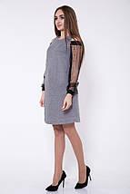 Платье женское 115R902 цвет Серый, фото 3
