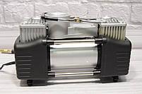 """Портативный авто - компрессор  2х цилиндровый, воздушный """"Camel 12-628A (12V/10 ~ 200PSI)"""", фото 2"""