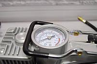 """Портативный авто - компрессор  2х цилиндровый, воздушный """"Camel 12-628A (12V/10 ~ 200PSI)"""", фото 4"""