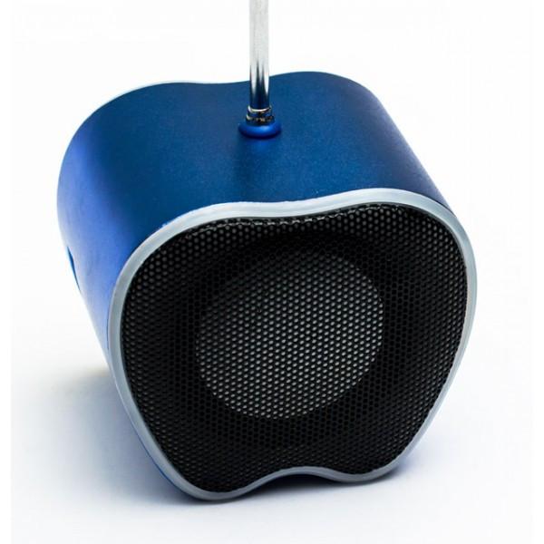 NNS WS-758 ПОРТАТИВНАЯ МУЛЬТИМЕДИЙНАЯ КОЛОНКА-СПИКЕР FM РАДИО, MP3, USB, TF, APPLE лёгкий мини спикер