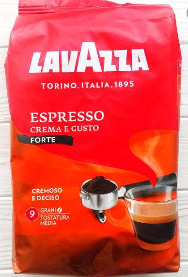 Кава в зернах Lavazza Crema e Gusto Forte 1 кг