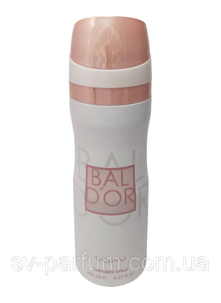 Парфюмированный дезодорант женский Bal D'or 200ml