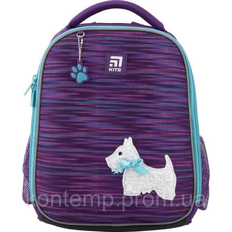 Рюкзак шкільний каркасний Kite Education Cute puppy K20-555S-3