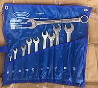 Набір ключів Комбінованих 8 шт.( Хромовані), фото 1
