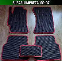 Килимки Subaru Impreza '00-07