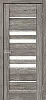 "Двері міжкімнатні ОМіС ""RINO 06G"" дуб Денвер + скло (Natural Look)(600,700,800,900 мм)"
