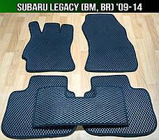 ЄВА килимки Subaru Legacy BM, BR '09-14. Автоковрики EVA Субару Легасі