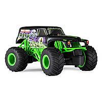 Машина Monster Jam Grave Digger на р/у 1:24 6044955 ТМ: Spin Master