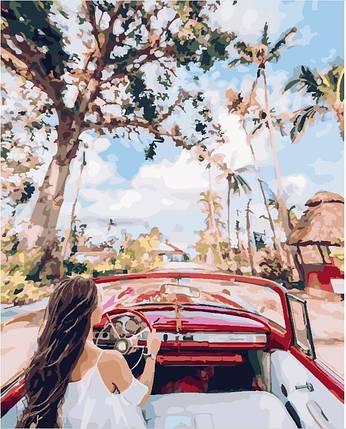"""Картина по номерам. Brushme """" Улицами Кубы """", GX24882                        , фото 2"""