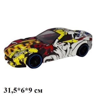 Машина легковая граффити инерционная, 95018
