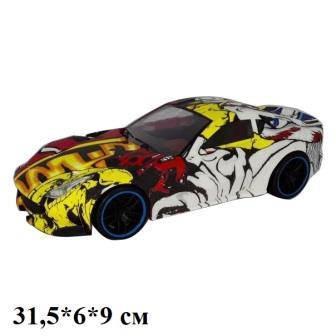 Машина легковая граффити инерционная, 95018, фото 2
