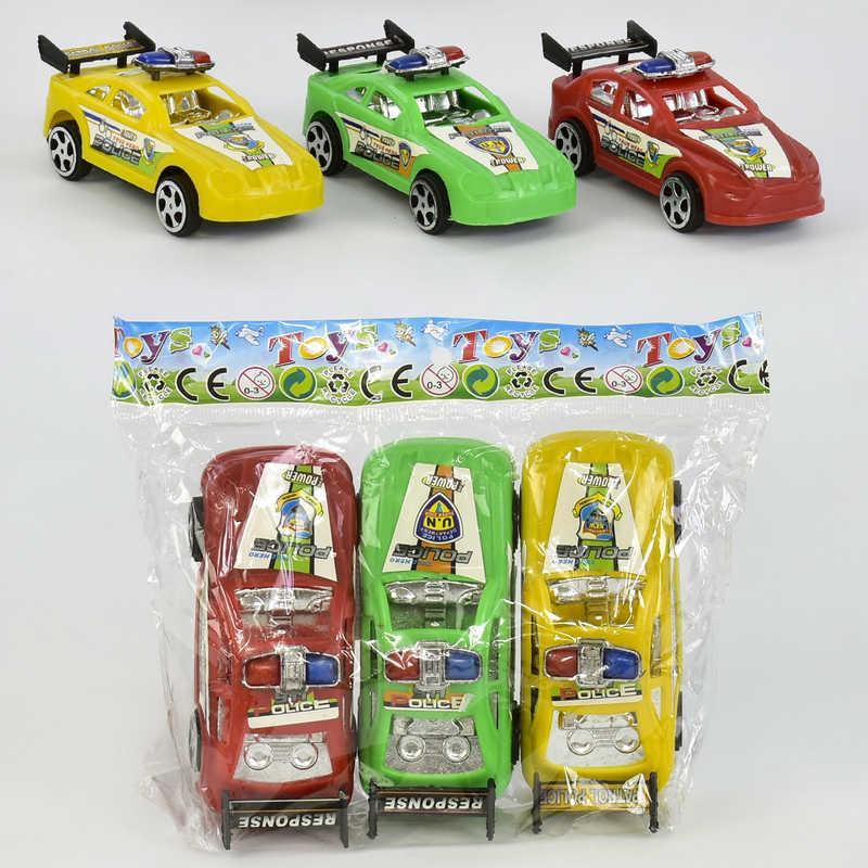 Набор машин, инерционные, 3 цвета, 3шт/упак., 524S-3